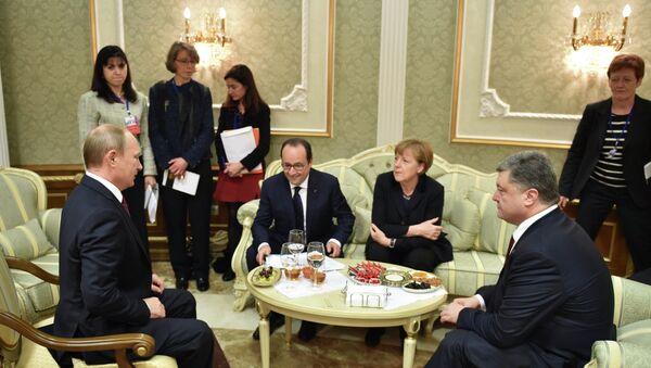 Spotkanie w Mińsku - Sputnik Polska