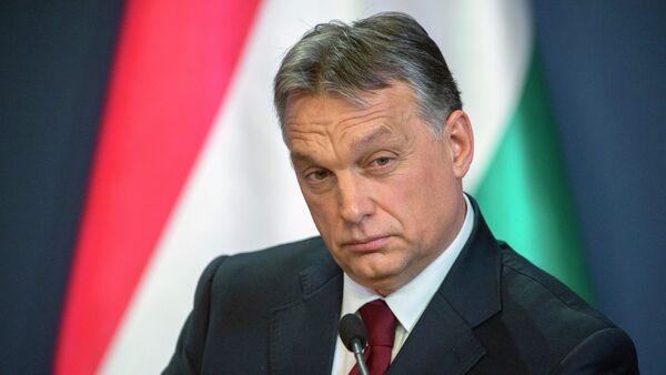 Premier Węgier Viktor Orban - Sputnik Polska