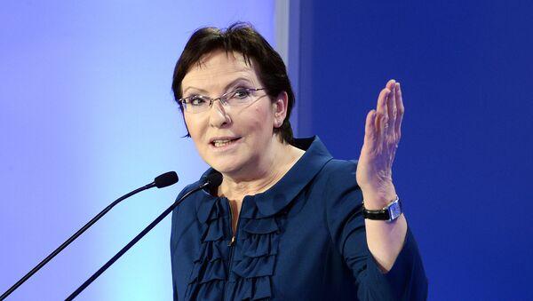 Premier Polski Ewa Kopacz - Sputnik Polska