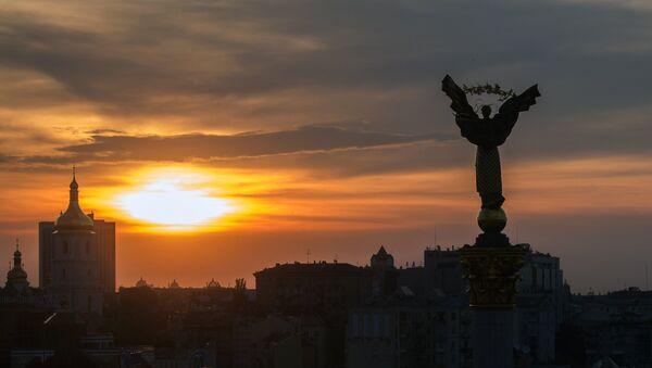 Majdan w Kijowie - Sputnik Polska