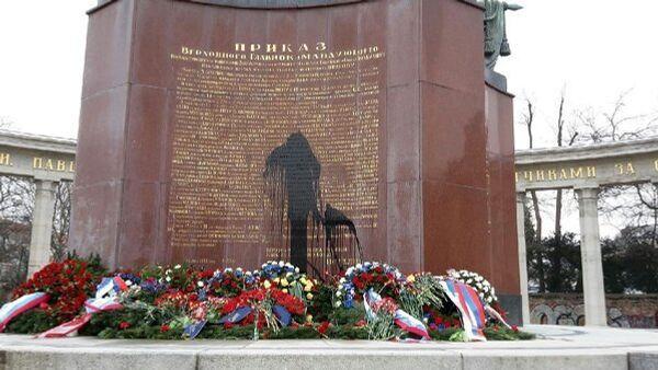 Pomnik pamięci żółnierzy radzieckich, Wiedeń - Sputnik Polska