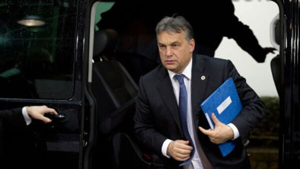 Premier Węgier Wiktor Orban - Sputnik Polska