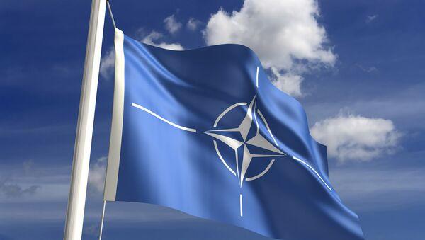 Flaga NATO - Sputnik Polska