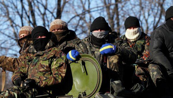 Żołnierze ukraińskiej armii - Sputnik Polska