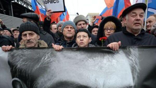 Marsz pamięci Borysa Niemcowa - Sputnik Polska