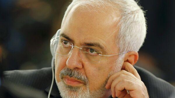Minister spraw zagranicznych Iranu Mohammad Dżawad Zarif - Sputnik Polska