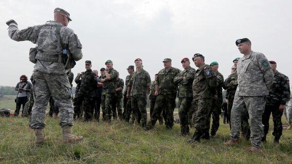 Żołnierzy NATO - Sputnik Polska