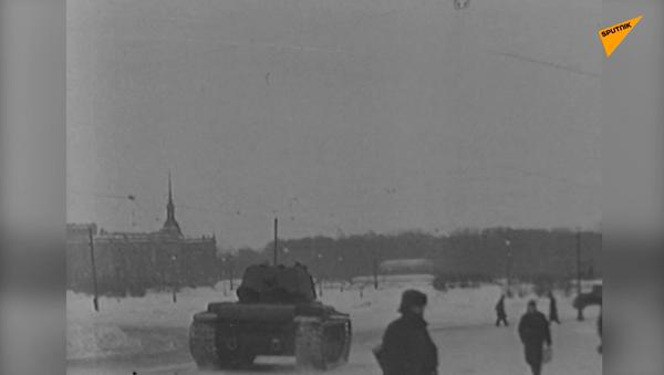 Najdłuższa i najcięższa: Bitwa o Leningrad – wideo archiwalne - Sputnik Polska