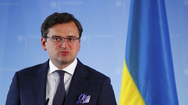 Minister spraw zagranicznych Ukrainy Dmytro Kuleba - Sputnik Polska