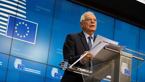 Szef unijnej dyplomacji Josep Borrell - Sputnik Polska