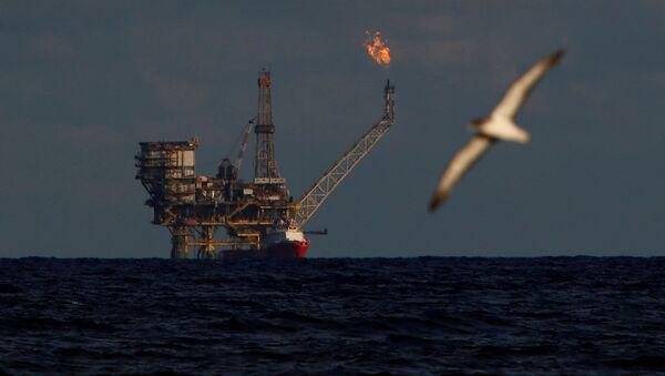 Platforma naftowa u wybrzeży Libii - Sputnik Polska