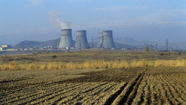 Elektrownia jądrowa Metsamor w Armenii - Sputnik Polska