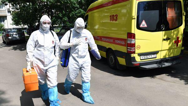 Epidemia koronawirusa w Rosji - Sputnik Polska