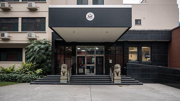 Konsulat Generalny Stanów Zjednoczonych w mieście Chengdu, Chiny - Sputnik Polska