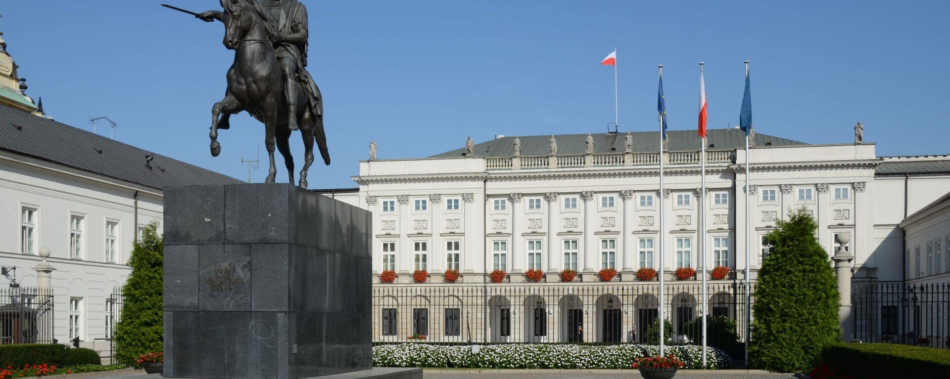 Pałac Prezydencki w Warszawie - Sputnik Polska, 1920, 14.08.2021