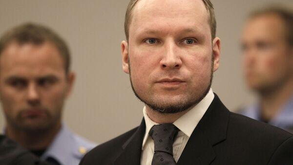 Norweski terrorysta Anders Breivik. - Sputnik Polska
