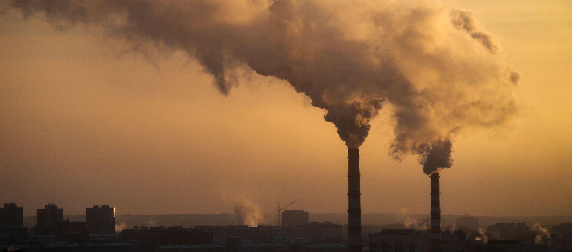 Dym z elektrowni - Sputnik Polska, 1920, 25.02.2021