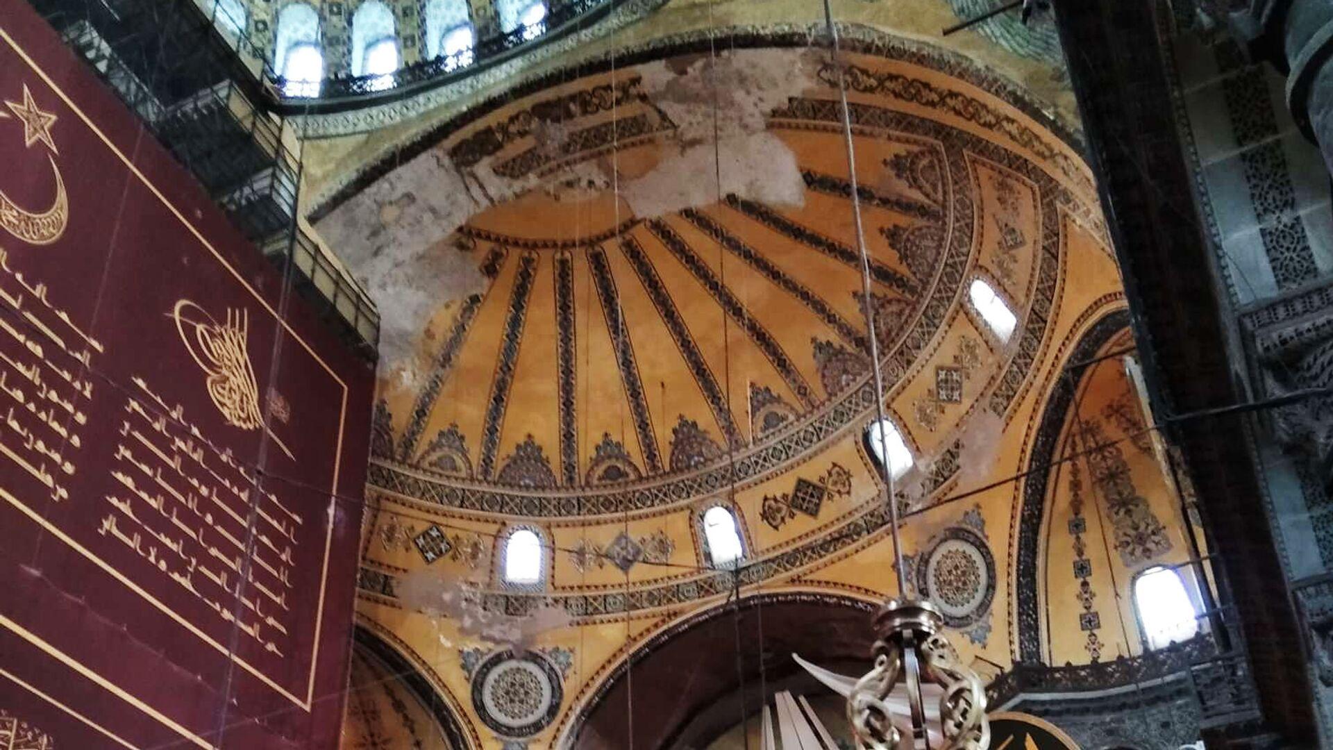 Pierwsze od 86 lat modlitwy muzułmańskie w Hagia Sophia - Sputnik Polska, 1920, 24.07.2021