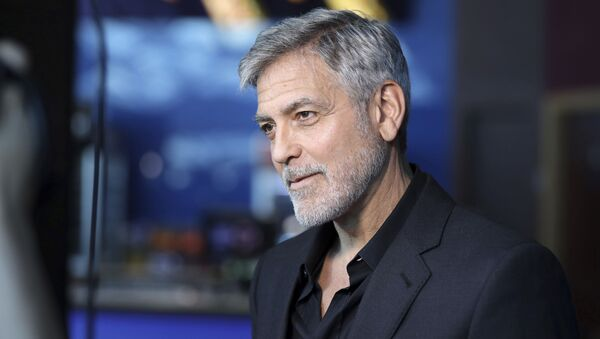 Amerykański aktor i producent George Clooney - Sputnik Polska
