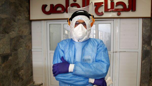 Lekarz w jednym ze szpitali w Iraku. - Sputnik Polska