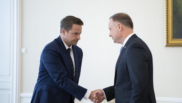 Spotkanie Andrzeja Dudy i Rafała Trzaskowskiego - Sputnik Polska