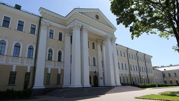 Budynek Komitetu Śledczego Republiki Białorusi - Sputnik Polska