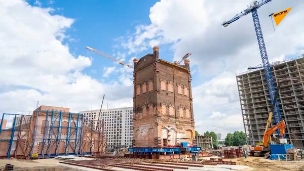 Wieża ciśnień z XIX wieku w Moskwie - Sputnik Polska