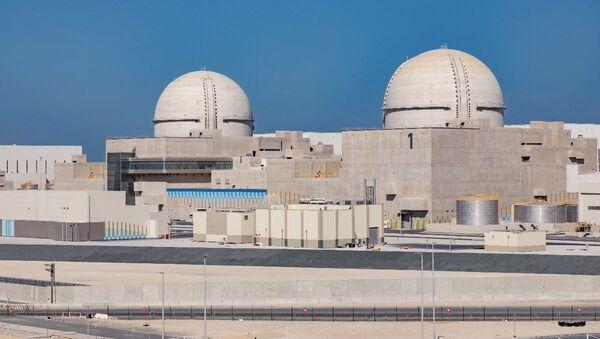 Pierwsza w świecie arabskim elektrownia atomowa Barakah. - Sputnik Polska
