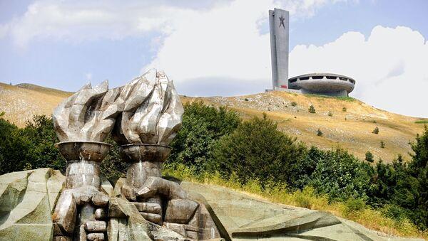 Dom-pomnik Buzludzha w Bułgarii - Sputnik Polska
