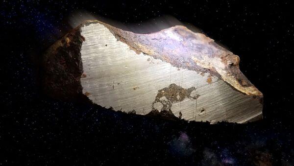 Żelazne meteoryty z grupy IEE - Sputnik Polska