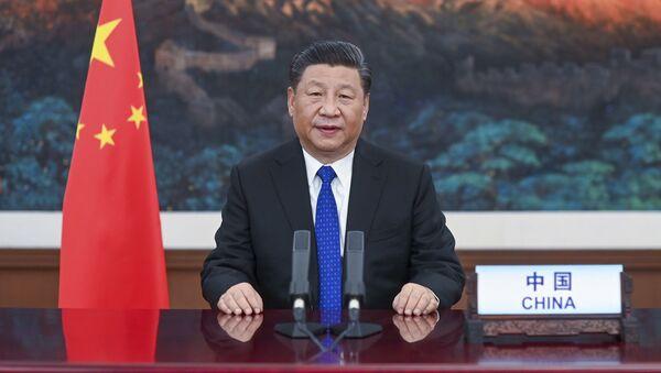 Przewodniczący ChRL Xi Jinping - Sputnik Polska