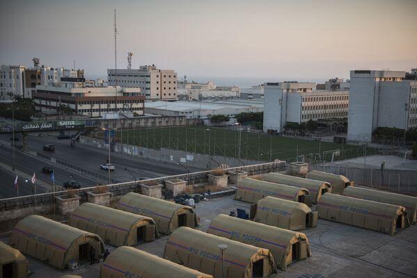 """Rosyjski szpital polowy """"Centrospas"""" w stolicy Libanu - Sputnik Polska"""