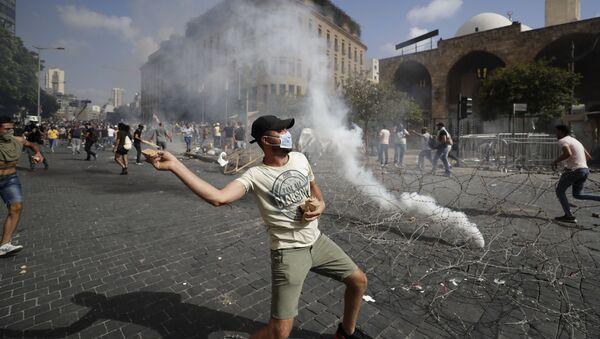 Bejrut, protesty - Sputnik Polska