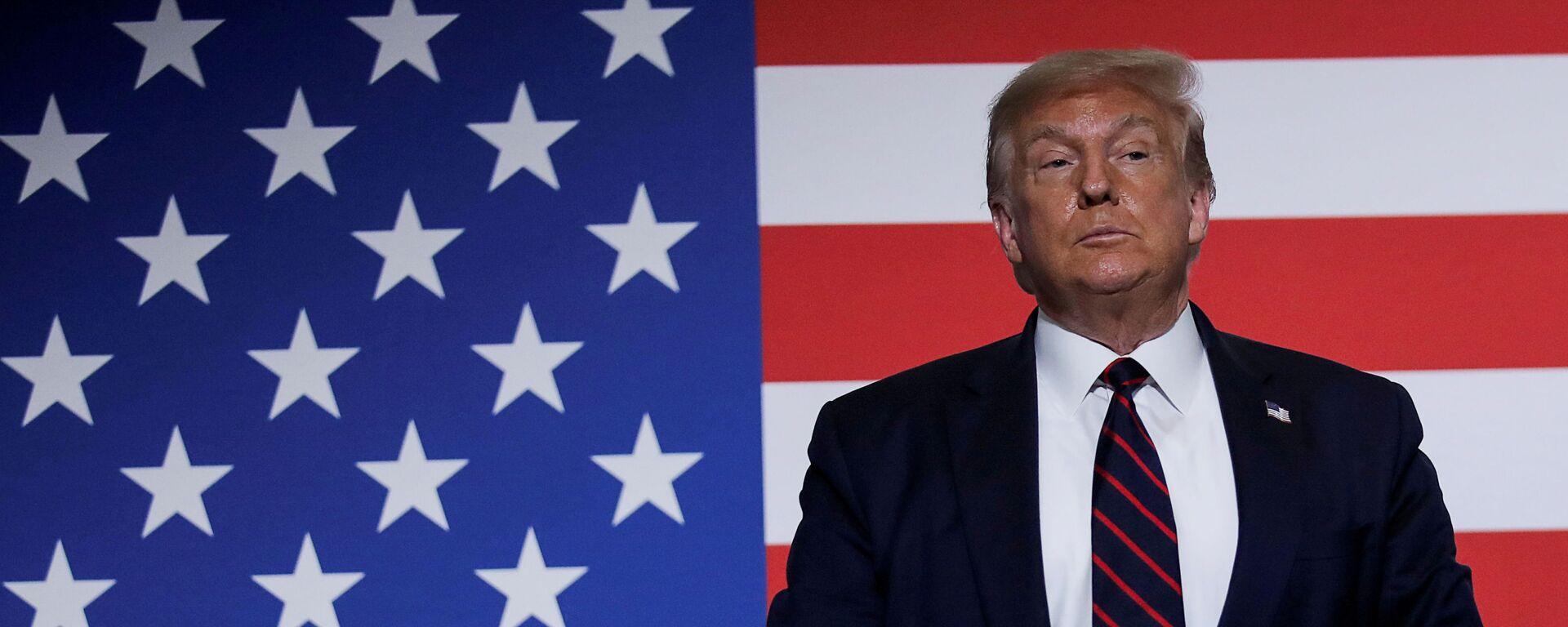 Donald Trump - Sputnik Polska, 1920, 06.09.2020