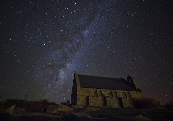Jezioro Tekapo w Nowej Zelandii - Sputnik Polska