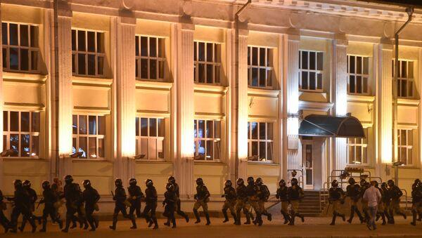 Protesty w Białorusi - Sputnik Polska