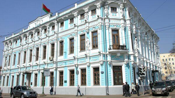 Budynek ambasady Republiki Białorusi w Moskwie - Sputnik Polska