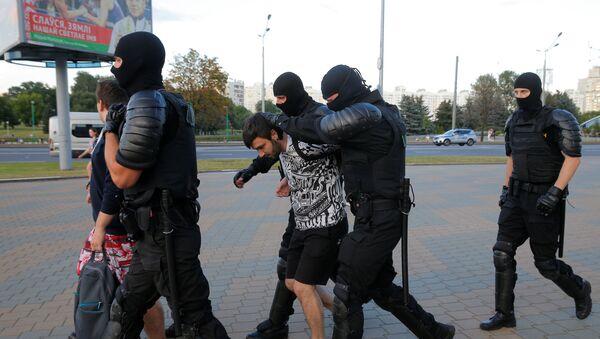 Zatrzymania w Mińsku - Sputnik Polska