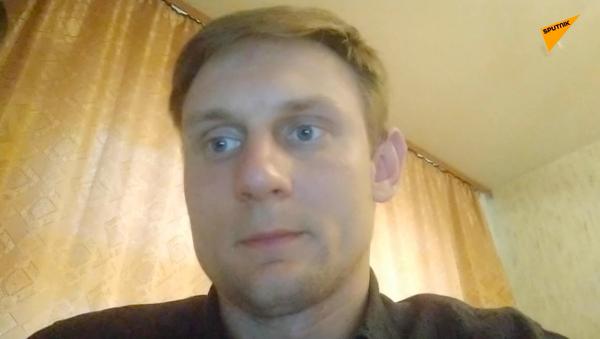 Korespondent Sputnik Białoruś Jewgienij Olejnik - Sputnik Polska