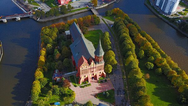 Kaliningrad z lotu ptaka - Sputnik Polska