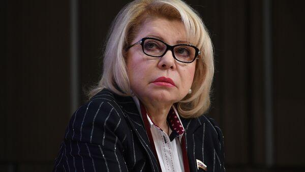 Członek komitetu ds. międzynarodowych Dumy Państwowej Jelena Panina - Sputnik Polska