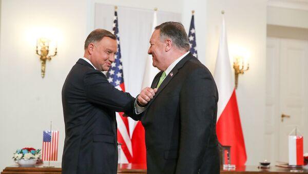 Wizyta Pompeo w Polsce - Sputnik Polska