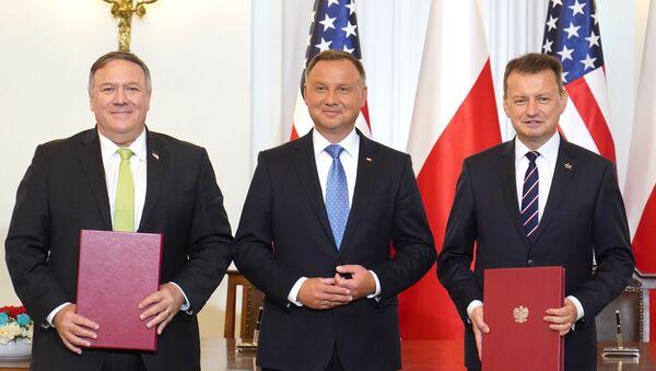 Pompeo w Polsce - Sputnik Polska