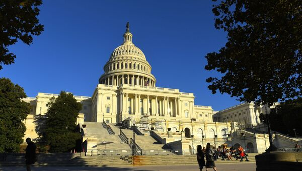 Budynek Kapitolu na Wzgórzu Kapitolu w Waszyngtonie, USA - Sputnik Polska