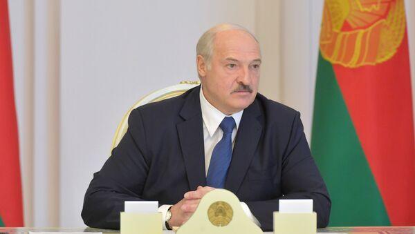 Prezydent Białorusi Aleksandr Łukaszenka. - Sputnik Polska