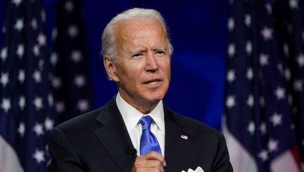 Kandydat na prezydenta USA z Partii Demokratycznej Joe Biden - Sputnik Polska