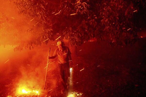 Pożary w Vacaville, USA - Sputnik Polska