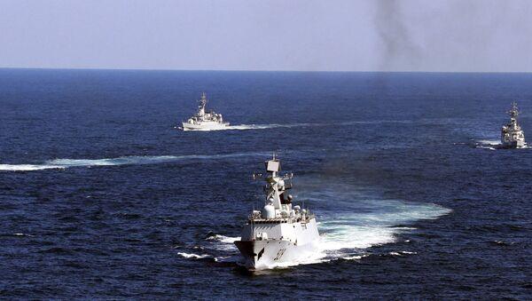 Flota Chin - Sputnik Polska