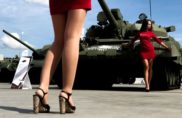 Czołg T-55А  - Sputnik Polska