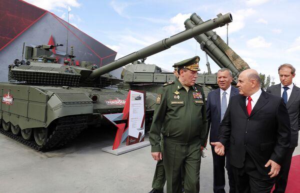 Premier Rosji Michaił Muszustin na ceremonii otwarcia forum ARMIA 2020 - Sputnik Polska